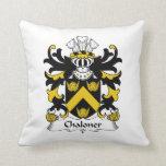 Escudo de la familia de Chaloner Cojines