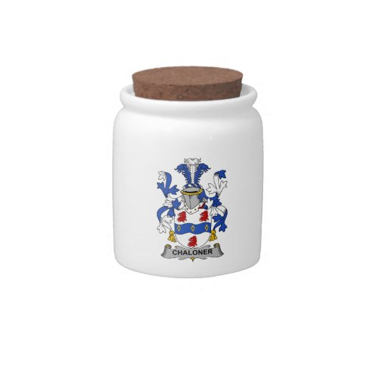Escudo de la familia de Chaloner Jarras Para Caramelos