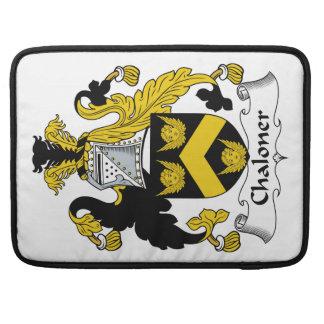 Escudo de la familia de Chaloner Fundas Macbook Pro