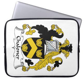 Escudo de la familia de Chaloner Fundas Portátiles