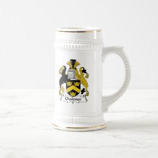 Escudo de la familia de Chaloner Taza De Café
