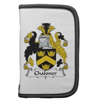 Escudo de la familia de Chaloner Organizador