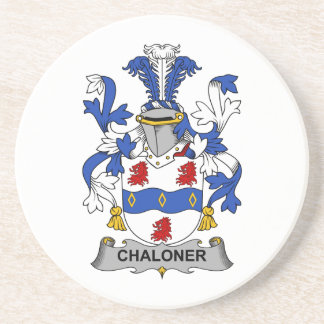 Escudo de la familia de Chaloner Posavasos Manualidades
