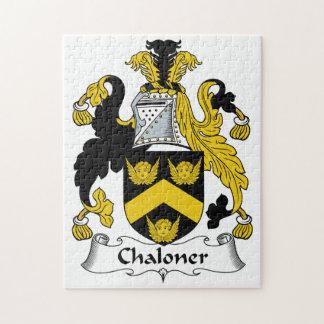 Escudo de la familia de Chaloner Puzzles Con Fotos