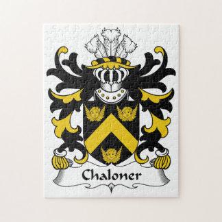 Escudo de la familia de Chaloner Rompecabeza