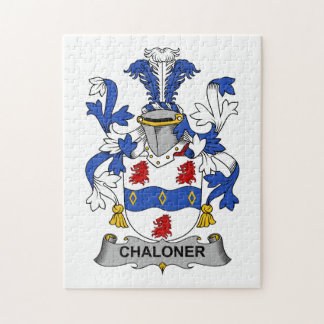 Escudo de la familia de Chaloner Puzzle