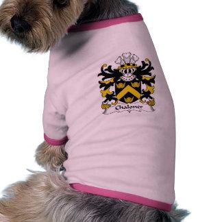 Escudo de la familia de Chaloner Ropa De Perros