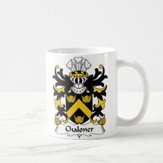 Escudo de la familia de Chaloner Taza Clásica