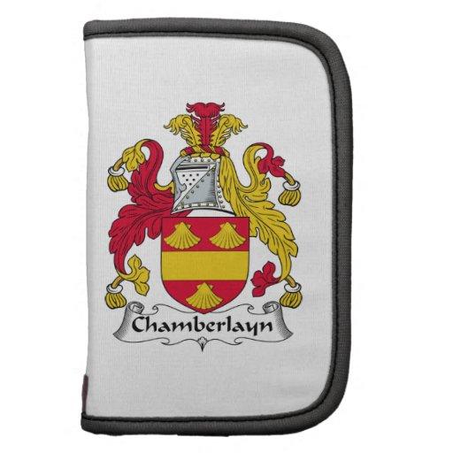 Escudo de la familia de Chamberlayn Planificadores