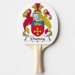 Escudo de la familia de Chancey Pala De Ping Pong