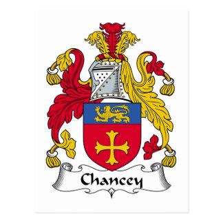 Escudo de la familia de Chancey Postal
