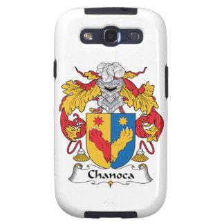 Escudo de la familia de Chanoca Galaxy S3 Cobertura