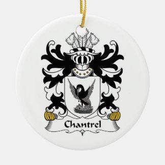 Escudo de la familia de Chantrel Adorno Para Reyes