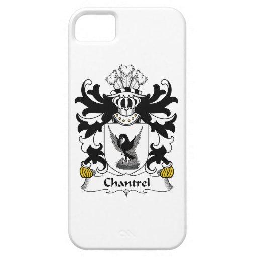 Escudo de la familia de Chantrel iPhone 5 Coberturas