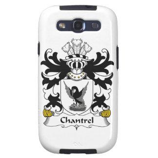 Escudo de la familia de Chantrel Samsung Galaxy S3 Funda