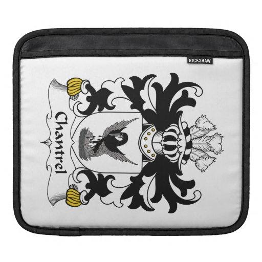 Escudo de la familia de Chantrel Funda Para iPads