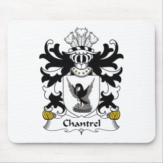 Escudo de la familia de Chantrel Tapetes De Raton