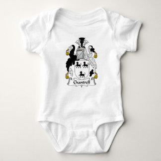 Escudo de la familia de Chantrell Body Para Bebé