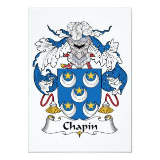 Escudo de la familia de Chapin Comunicados Personales