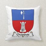 Escudo de la familia de Chappuis Almohadas