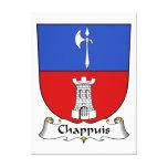 Escudo de la familia de Chappuis Impresiones De Lienzo