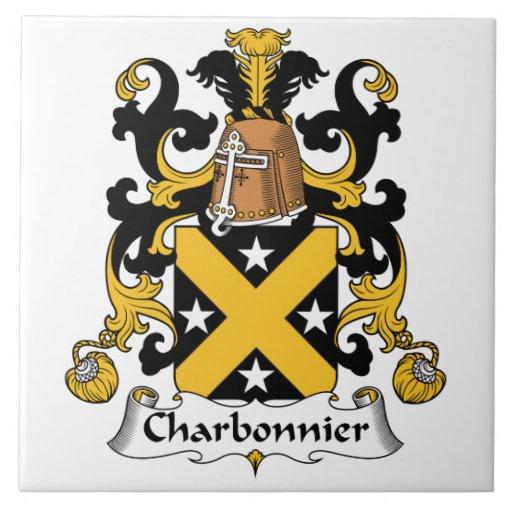Escudo de la familia de Charbonnier Tejas