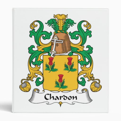 Escudo de la familia de Chardon