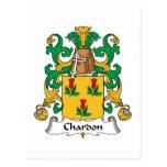 Escudo de la familia de Chardon Postal