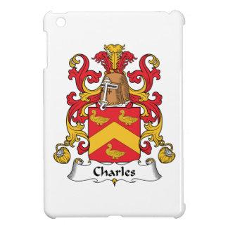 Escudo de la familia de Charles iPad Mini Protectores