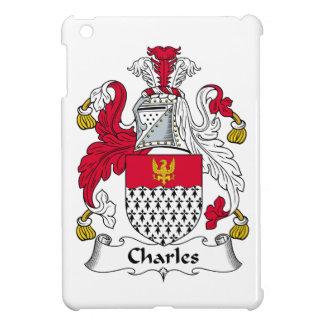 Escudo de la familia de Charles iPad Mini Cárcasa