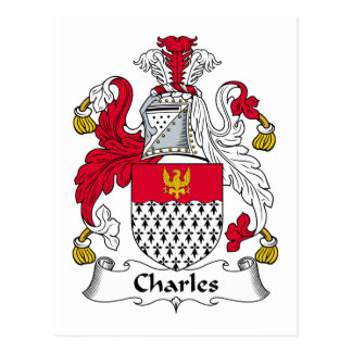 Escudo de la familia de Charles Postal