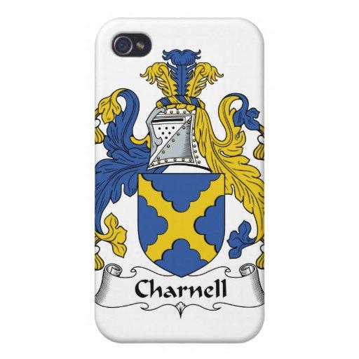Escudo de la familia de Charnell iPhone 4/4S Funda