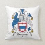 Escudo de la familia de Charteris Cojines