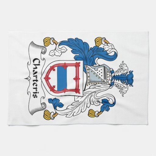 Escudo de la familia de Charteris Toalla