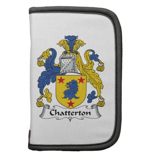 Escudo de la familia de Chatterton Organizadores