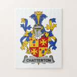 Escudo de la familia de Chatterton Puzzle Con Fotos