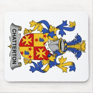 Escudo de la familia de Chatterton Tapetes De Ratón