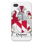 Escudo de la familia de Chaucer iPhone 4/4S Fundas