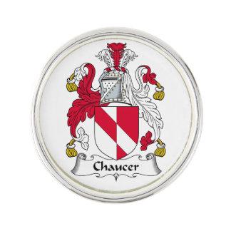 Escudo de la familia de Chaucer Pin
