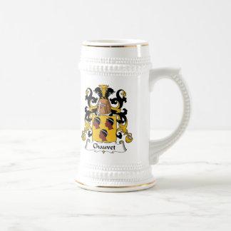 Escudo de la familia de Chauvet Jarra De Cerveza