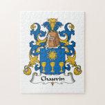 Escudo de la familia de Chauvin Rompecabezas