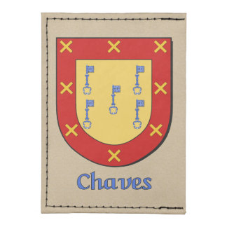 Escudo de la familia de Chaves Tarjeteros Tyvek®