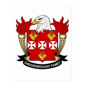 Escudo de la familia de Cheesebrough Postales