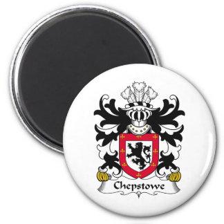 Escudo de la familia de Chepstowe Imán Redondo 5 Cm