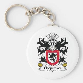 Escudo de la familia de Chepstowe Llavero Redondo Tipo Pin