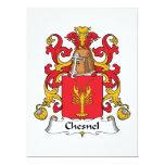 Escudo de la familia de Chesnel