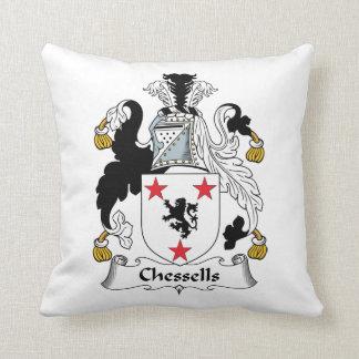 Escudo de la familia de Chessells Cojin