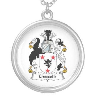 Escudo de la familia de Chessells Colgantes Personalizados
