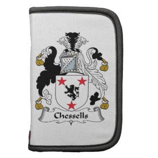 Escudo de la familia de Chessells Organizadores