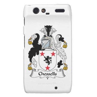 Escudo de la familia de Chessells Droid RAZR Carcasas